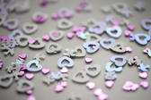 valentine love heart shapes